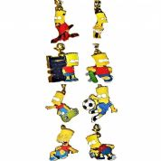 BART Simpson Key Rings,  Genuine Key Rings Choice of Designs